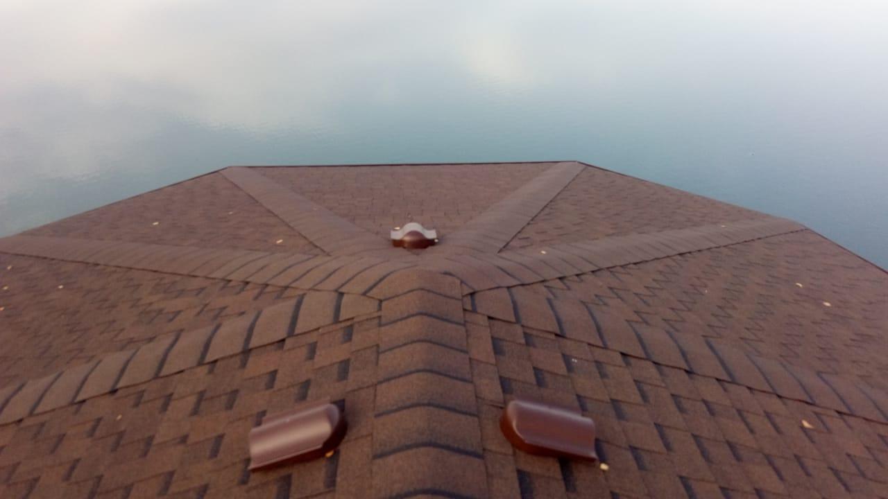 Частный дом, Бийский район, Шинглас ранчо коричневый