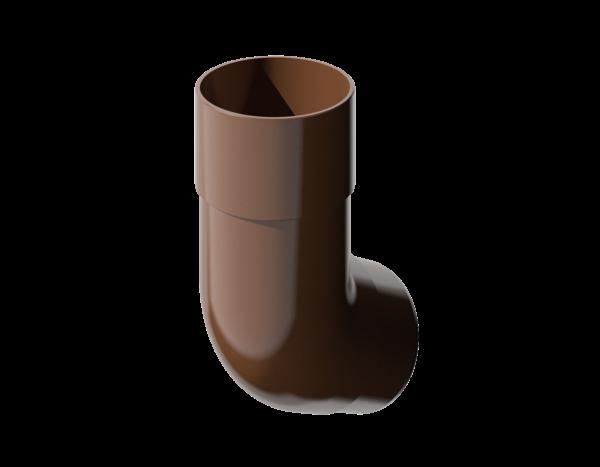 Колено универсальное-коричневое