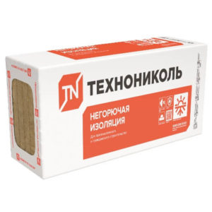 Базальтовый утеплитель ТехноНИКОЛЬ Техновент Стандарт 1200х600х50 мм
