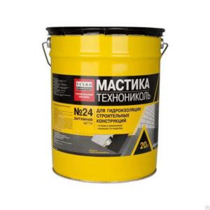Мастика битумная МГТН ведро 20 кг