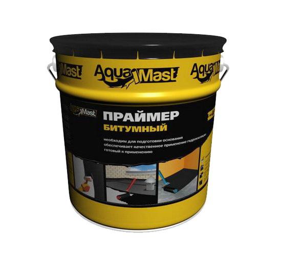 Праймер битумный AquaMast 18л 24 ведра
